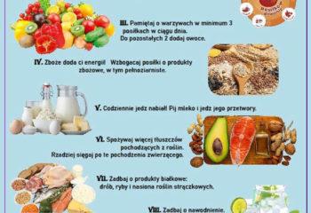 10 zasad zdrowego trybu życia