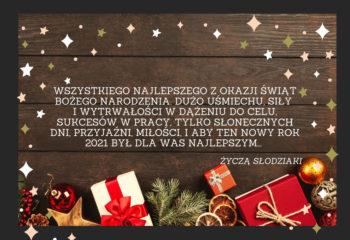 Wszystkiego najlepszego z okazji Świąt Bożego Narodzenia. Du